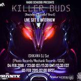 Killer Buds Live Set on Radio Schizoid - Feb 2016