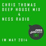 Chris Thomas Mix 4 Ness Radio 1st week 'May 2014'