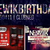 2015.04.11. newik 34. birthday party @ club neo
