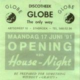 Resident DJ Team at Globe (Stabroek - Belgium) - October 1991