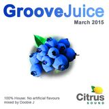 Groove Juice Blueberry - March 2015
