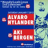 MoodyLushious Influences Episode 9 (Guest Mix By Aki Bergen) (January 2012 Edition)