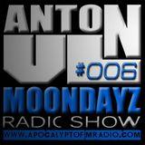 MoonDayz RadioShow By Anton VL Episode #006 (17.December.2014)