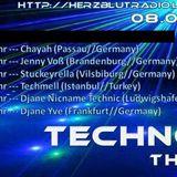 """""""Technoeden - the Show"""" auf Radio Herzblut (11.05.2016)"""