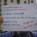 SUB FM / Radio Helsinki - disko404 radio - doze b2b Simon/off - 30/10/14