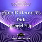 Dirk - Host Mix - Time Differences 317 (3rd June 2018) on TM Radio