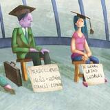 Incierto el futuro laboral de miles de universitarios recién graduados.