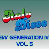 Italo Disco New Generation Mix Vol. 5