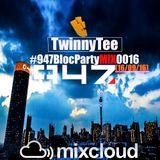 TwinnyTee - 947 Bloc Party with Mac G M!X 016 (16-09-16)