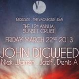 John Digweed - Live at The 12th Annual Sunset Cruise, Miami, WMC (22-03-2013)