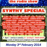 THE JOHNNY NORMAL RADIO SHOW 37 - 3RD FEB 2014