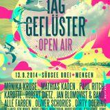 Bernhard Jakob - Taggeflüster Open Air - Mengen, 13.09.2014 (12:00 - 13:15 Uhr Grüne Wiese)