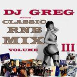 CLASSIC RNB MIX VOLUME 3
