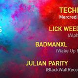 Julian Parity ::: PlanetX presents Techno Paradize @ 4 Elements, Paris (25/11/2015)