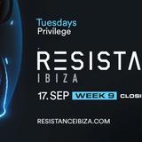 Carl Cox b2b Adam Beyer @ Resistance Ibiza Closing Party at Privilege - 17 September 2019