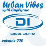 Emilijano - Urban Vibes 030 [DI.FM] (22 Jan 2014)