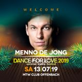 06. Menno de Jong  - 20.06.2019 - Trance Energy Radio - Dance for Love 2019 Special