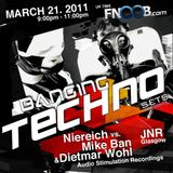 Banging Techno sets :: 001 >> Niereich vs. Mike Ban & Dietmar Wohl - JNR