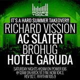 Powertools Mixshow - Episode 7-22-17 Ft: Richard Vission, AC Slater, Brohug, & Hotel Garuda