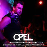 Syd Gris Live from Opel's 12 Year Anniversary