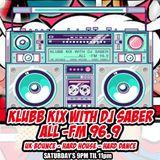 Klubb Kix-DJ SABER-ALLFM96.9-Show056 12-08-2017