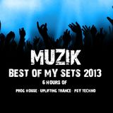 MUZIK - Best of my sets 2013 (TECHNO AND PSY)