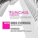 Greg Eversoul live at PUNCHIS. BetaNightClub, Denver 4/2013