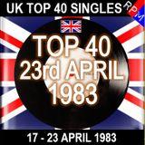 UK TOP 40 17-23 APRIL 1983