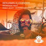 Benjamin Alexander - Robot Heart - Burning Man 2014