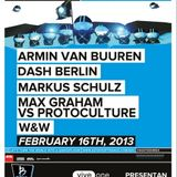Max Graham vs Protoculture - Live @ A State of Trance 600 Mexico City (Warm-up set) (16.02.2013)