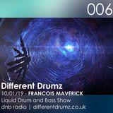 Francois Maverick Liquid Drum and Bass Show. Different Drumz DNB Radio 006