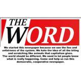 Alan Davies & Charles The Word Newspaper Show.