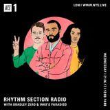 Rhythm Section w/ Bradley Zero & Wax'O Paradiso - 21st June 2017