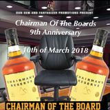 CHAIRMAN OF THE BOARD 9TH ANNIVERSARY DANCE FT D-MAC CHAIRMAN BROWNIE ROCKERS FIDDLER TONY F MIDNITE