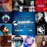 DEEPINSIDE RADIO SHOW 074 (Adeva Artist of the week)