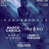 Marco Carola b2b Loco Dice @ Independence, Summer Beach Arena Rimini - 14 August 2019