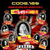 Paula Cazenave @ CODE 109 (Fabrik) Madrid 09-01-16
