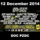ON-SET London 12/12/14 Promo Mix – DOC PZDC