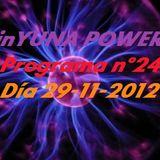 inYUNA POWER Programa 24 día 29-11-12