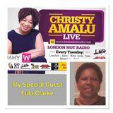 Christy Amalu on London Hott Radio 150817