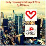 early morning breaks april 2016