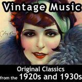 VINTAGE MUSIC OF THE 20s 30s & 40s - serenades dreams
