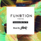 FUNKTION TOKYO Exclusive Mix Vol.70 Mixed By DJ SHIGEKI