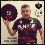 Hanuk pres. Save The Vinyl Vol. 03 @ Radio Time Out [17.01.2019]