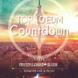 Top 10 Edm Countdown with Freestyle Chulo & DJ Lexx  1-31-17.