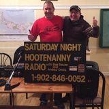 P.E.I.'s Saturday Night Hootenanny Radio ~ Saturday, December 2nd, 2017