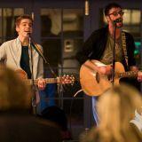 Eadyth & Rhodri - Oxbowlake - Curious Orange -  'Live' from the Crown - 25-01-2017