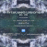 Artelized Visions 051 (March 2018) with guest Zenith on DI FM