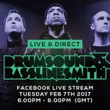 Drumsound & Bassline Smith - Live & Direct #24 [07-02-17]