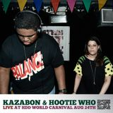 Kazabon & Hootie Who live at World Carnival August 24th 2013